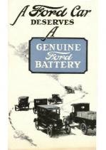 1923 Ford Battery Folder