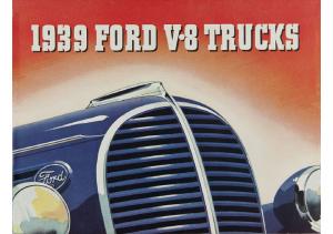 1939 Ford V8 Trucks
