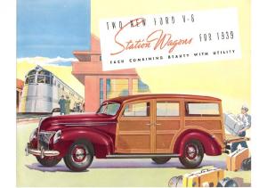 1939 Ford Wagon