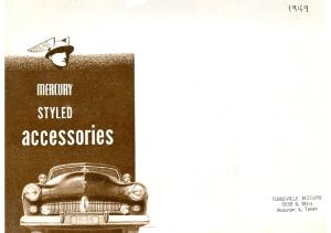 1949 Mercury Accesories
