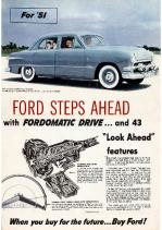 1951 Ford Full Line Folder