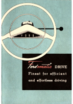 1951 Fordomatic Booklet