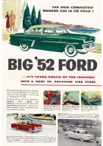 1952 Ford Full Line Foldout