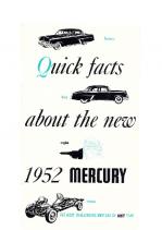 1952 Mercury Quick Facts