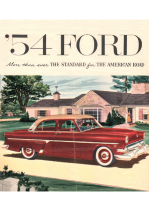 1954 Ford Foldout