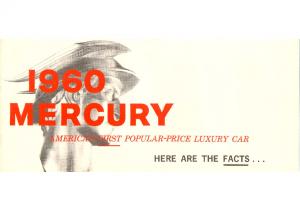 1960 Mercury Facts