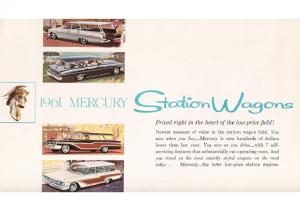 1961 Mercury Wagons