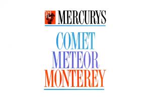 1962 Mercury Full Line