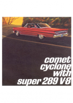1964 Mercury Comet 289 Cyclone