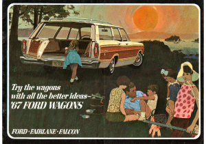 1967 Ford Wagons