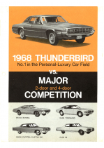1968 Ford Thunderbird vs Competition