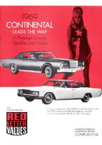 1969 Lincoln Continental Comparison