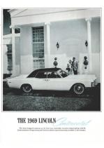 1969 Lincoln Dealer Booklet