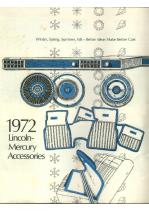 1972 Mercury Accessories