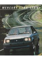1983 Mercury Lynx LTS Folder