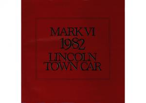 1982 Lincon Town Car & Mk VI (Cdn)
