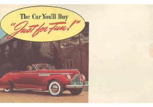 1940 Buick Mailer