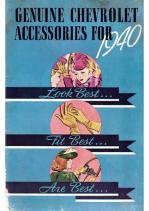 1940 Chevrolet Accessories