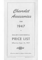 1947 Chevrolet Acc