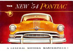1954 Pontiac Foldout