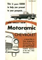1955 Chevrolet Motoramic Folder