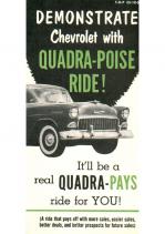 1955 Chevrolet Quadra-Poise Ride
