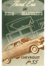 1955 Chevrolet Third Era Booklet