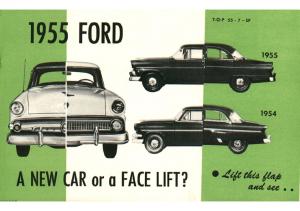 1955 Chevrolet vs Ford Booklet
