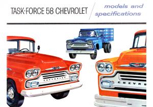 1958 Chevrolet Truck Full Line