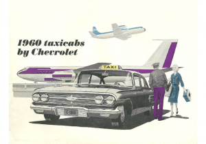 1960 Chevrolet Taxicabs