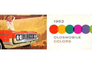 1962 Oldsmobile Exterior Colors Chart