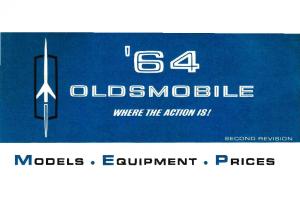 1964 Oldsmobile Salesmen's Specs