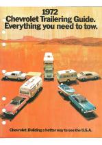 1972 Chevrolet Trailering Guide