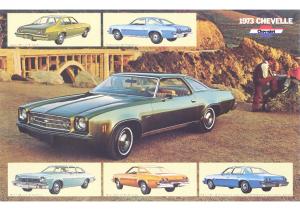 1973 Chevrolet Dealer Sheets
