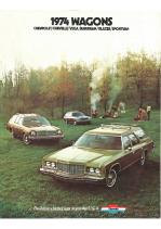 1974 Chevrolet Wagons Full Line