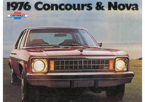 1976 Chevrolet Concours and Nova