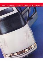 1990 Pontiac Grand Prix Sedans Foldout
