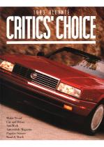 1993 Cadillac Allante Critics Choice
