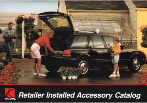 1993 Saturn Dealer Accessories