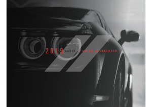 2019 Dodge Charger-Challenger