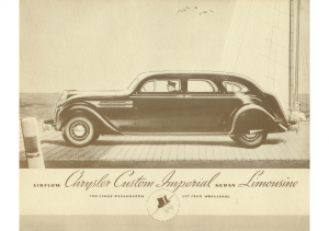 1934 Chrysler Imperial Airflow Limo