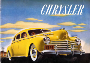 1941 Chrysler Prestige