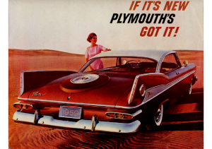 1959 Plymouth Foldout