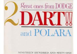 1961 Dodge Dart & Polara V2