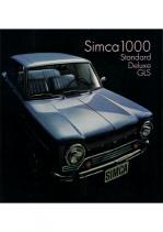 1968 Chrysler Simca 1000