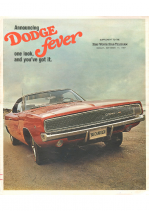 1968 Dodge Fever Supplement