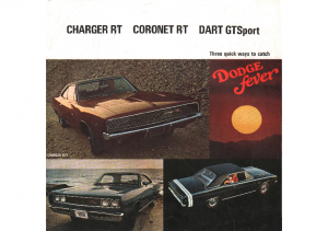 1968 Dodge Performance Models