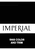 1968 Imperial Color & Trim
