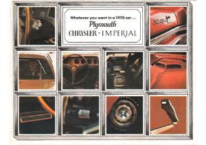 1970 Plymouth & Chrysler