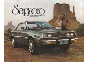 1978 Plymouth Sapporo